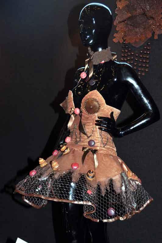 Robe en chocolat