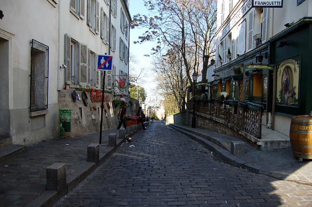 La Rue des Saules