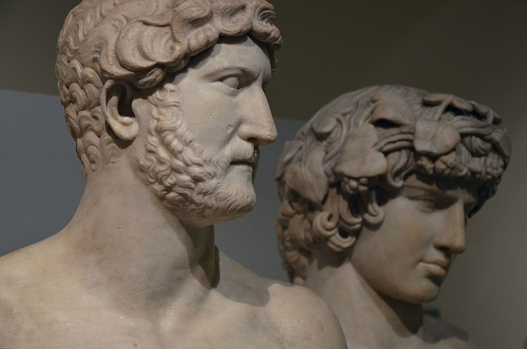 Marble_Busts_of_Hadrian_&_Antinous,_from_Rome,_Roman_Empire,_British_Museum_(16517587460)