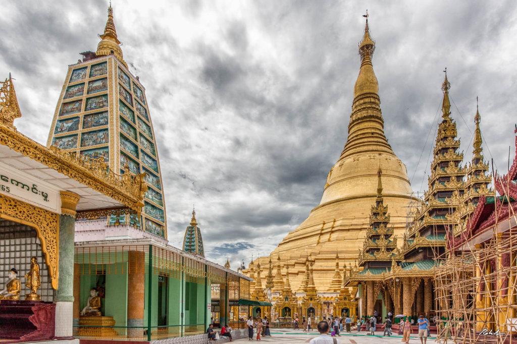 Swhedagon-pagoda